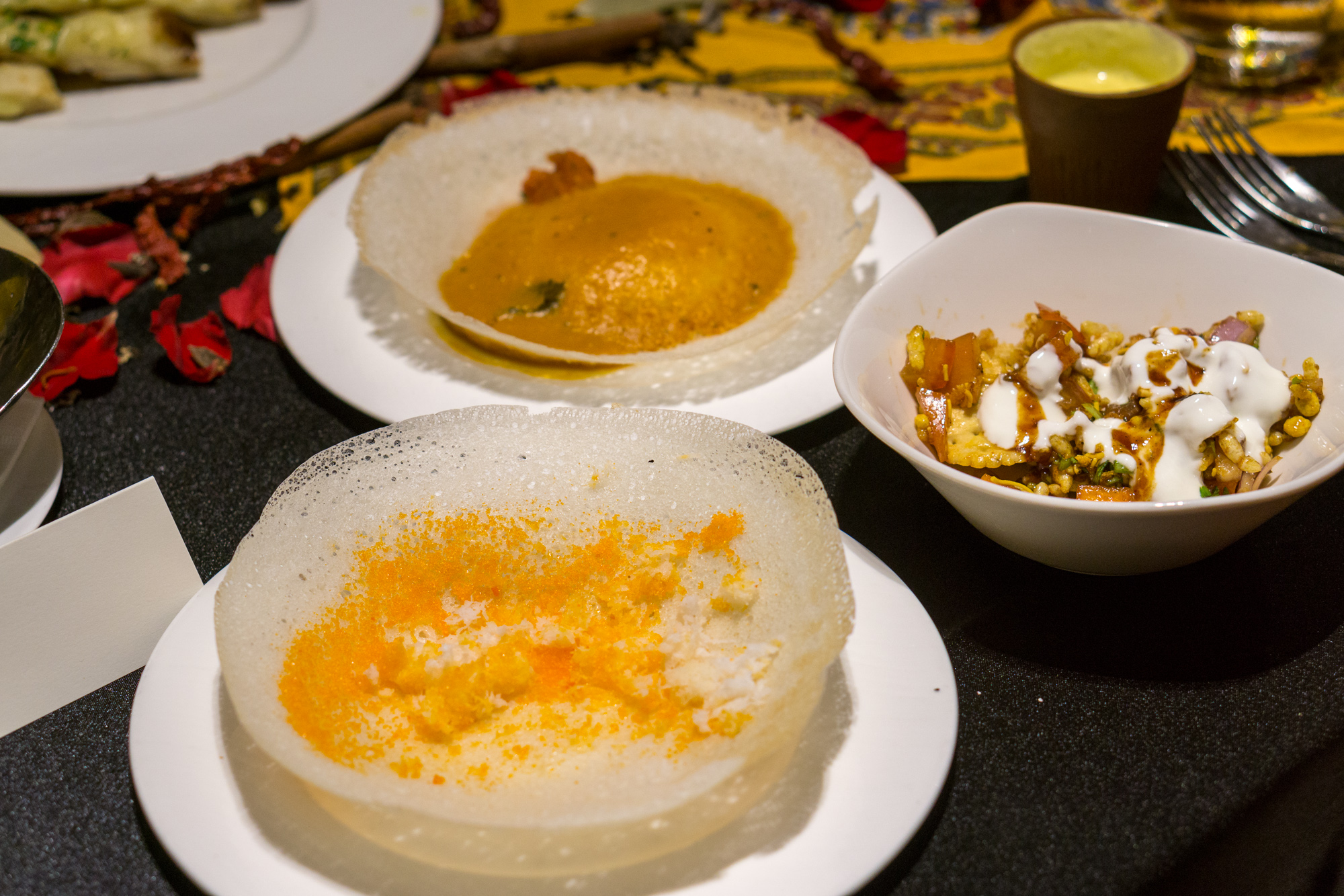Indian Food Festival at Melt Cafe Mandarin Oriental Singapore - Sweet and Savoury Appam, and Bhuna Shakerkand Ki Chaat
