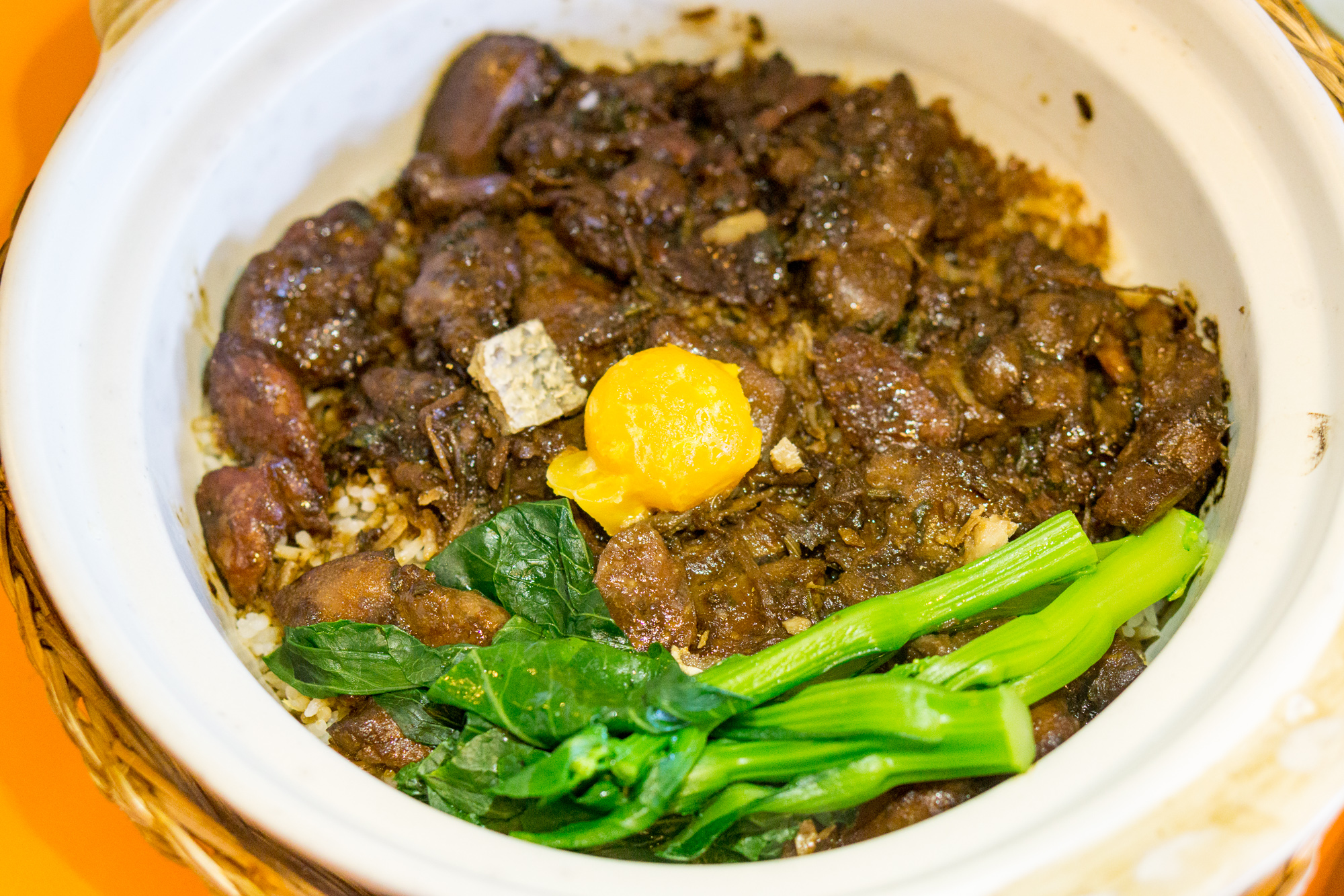 Kopi Tiam Swissotel The Stamford - Claypot Chicken Rice