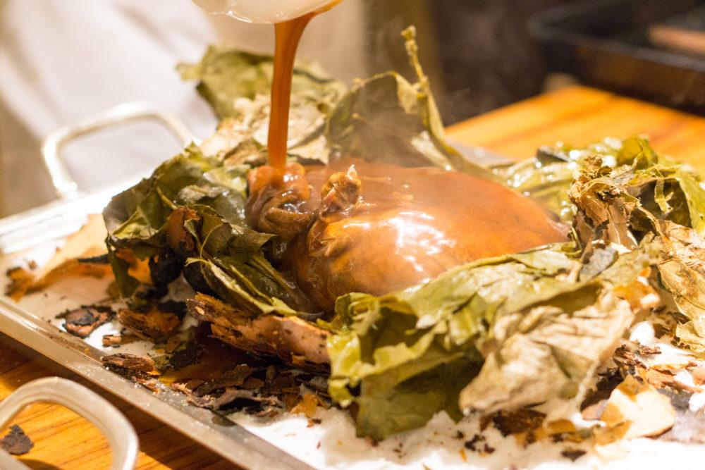 Chinese New Year 2018 - Golden Peony Conrad Centennial Singapore - Fortune Eight Treasures Stewed Duck